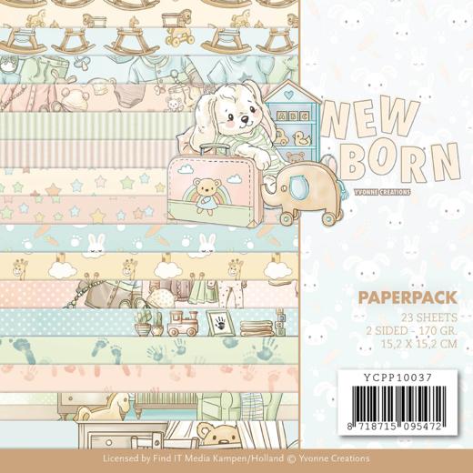 Papperspad Newborn YCPP10037