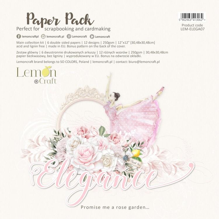 "Elegance paper pad 12"""