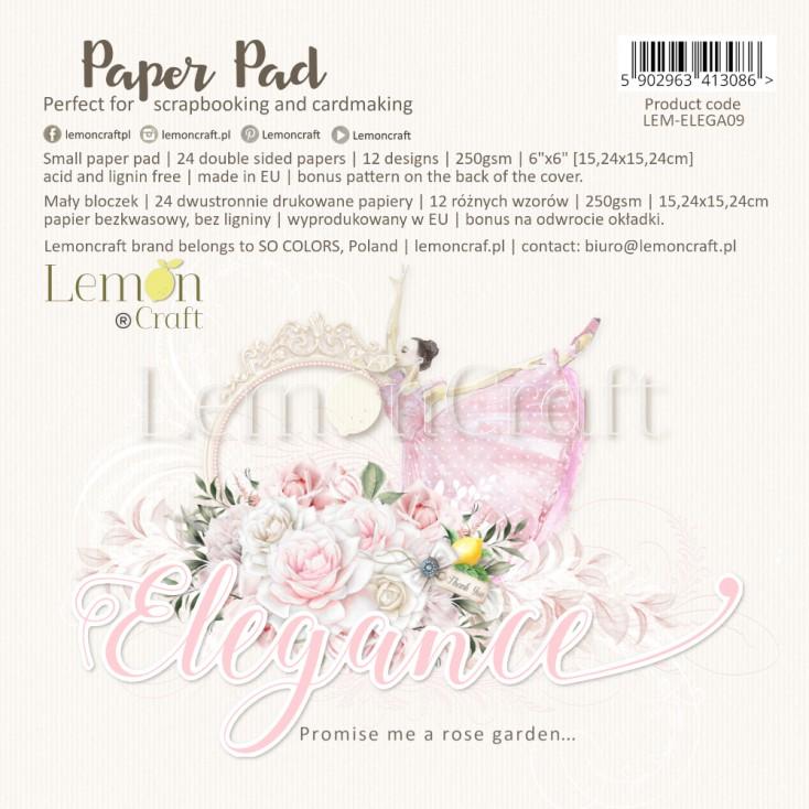 """Elegance paperpad 6*6"""""""