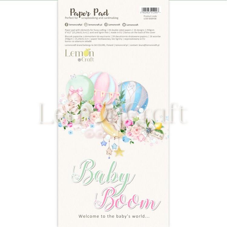 Baby Boom Fussy cutting pad