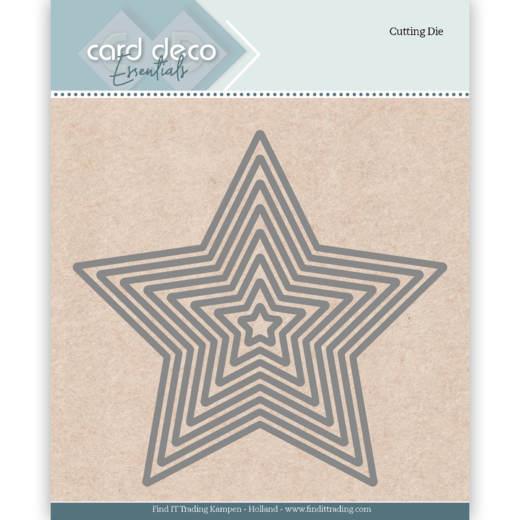 CDECD0025   Cutting Dies Star