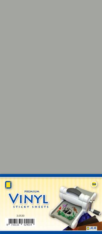 Premium vinyl silver metallic 3.0541