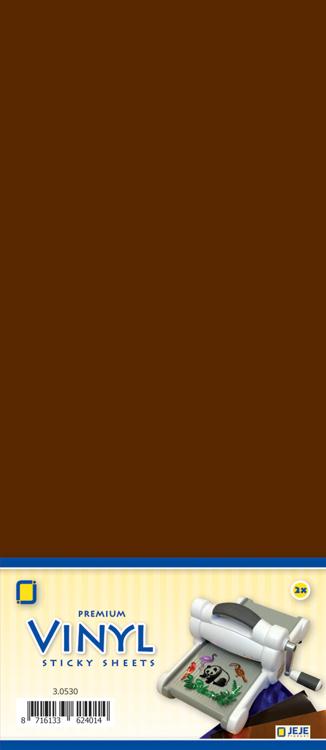 Premium vinyl brown matt 3.0534