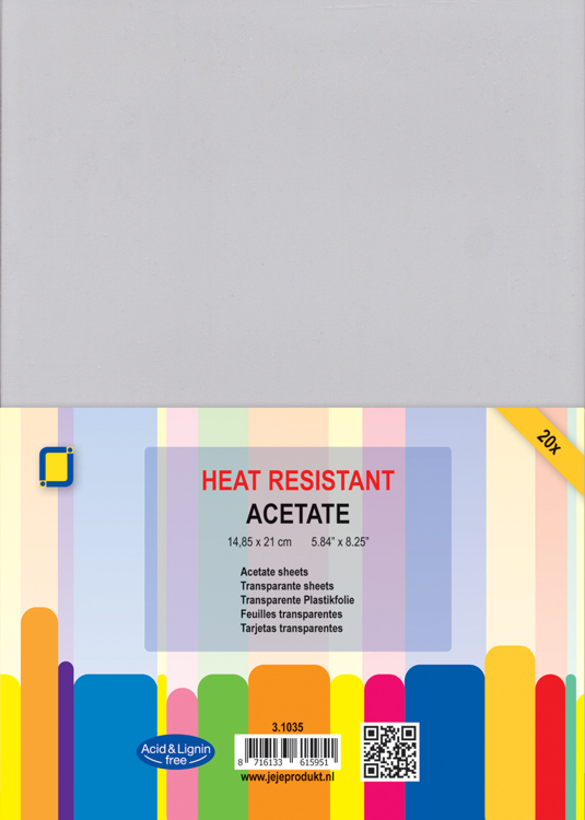 Heat Resistant Acetate A5