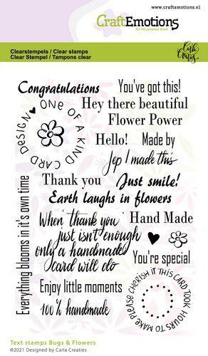 Bugs & flowers tekst