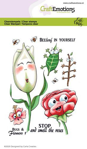Bugs & flowers 1