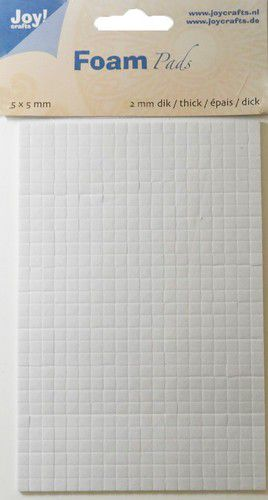 Foam Pads 2,0mm/5mm.bloc white