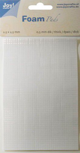 Foam Pads 0,5mm/2,5mm white