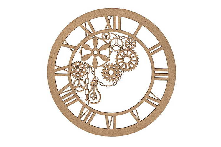 MD-20026 Clock face steampunk