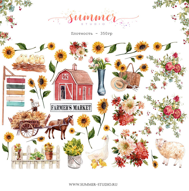 Farmhouse Diecuts
