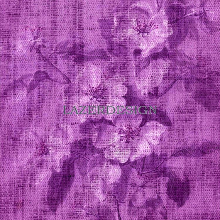 236 Vinröd blomma