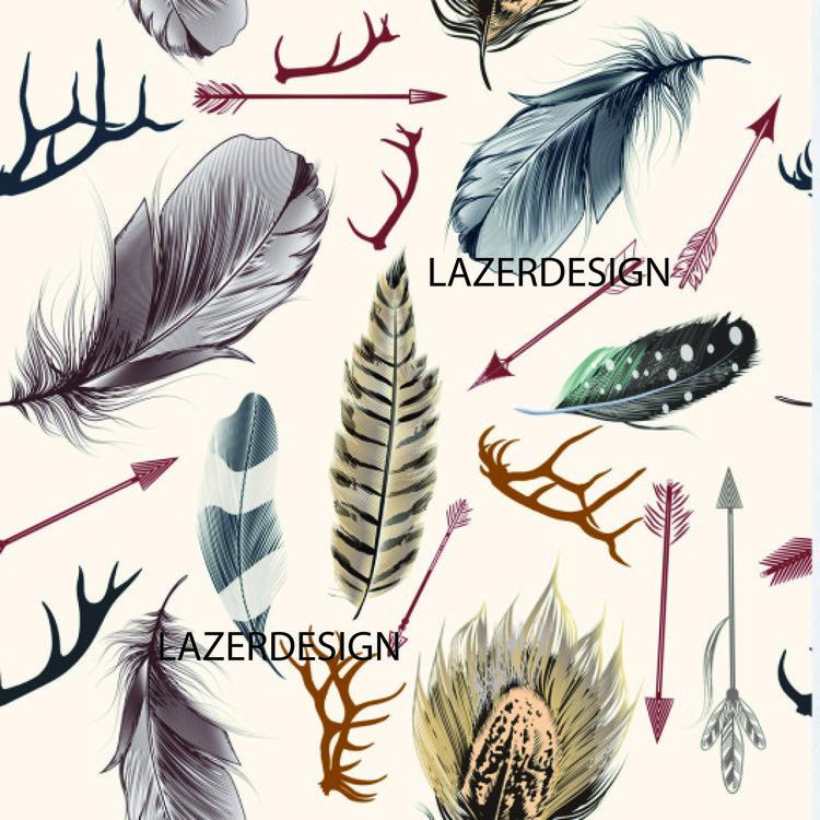 7 Fjädrar o grenar