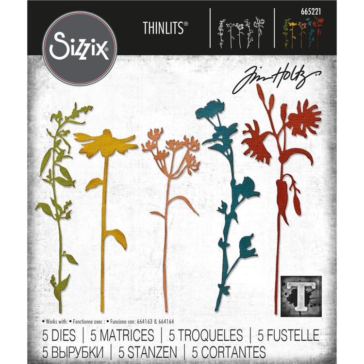 665221  Sizzix Wildflowers