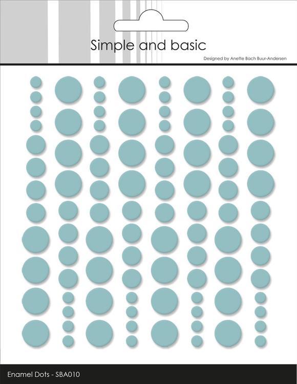Enamel Dots SBA010 MInt