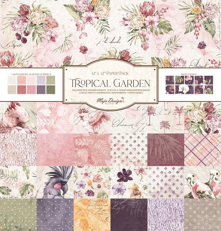 Maja  Design Tropical Garden 12x12 Kollektion