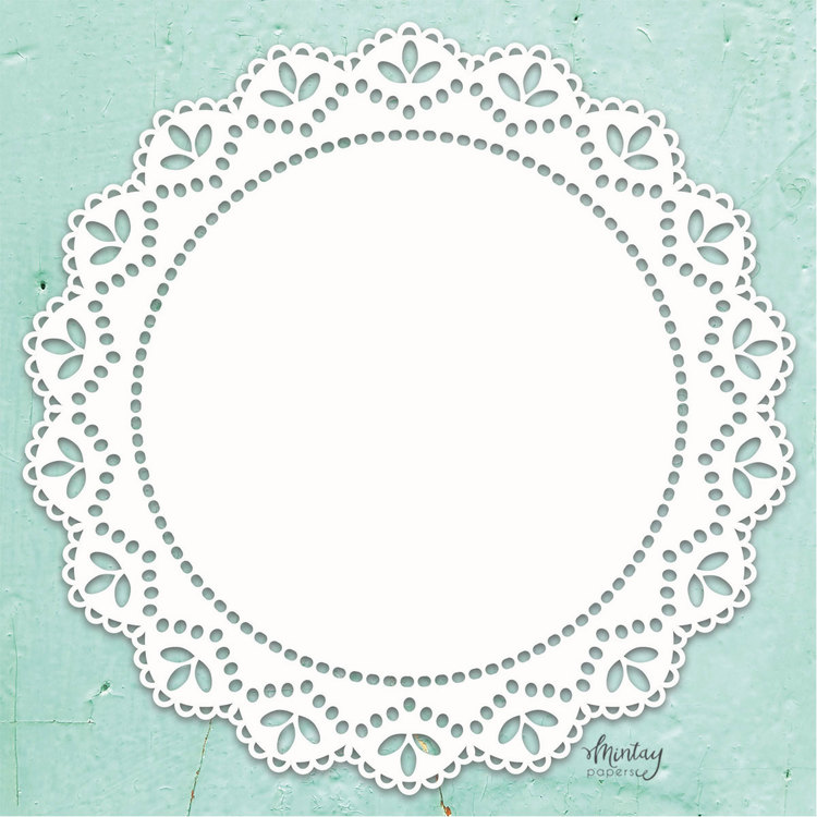Mintays Chippies Doily