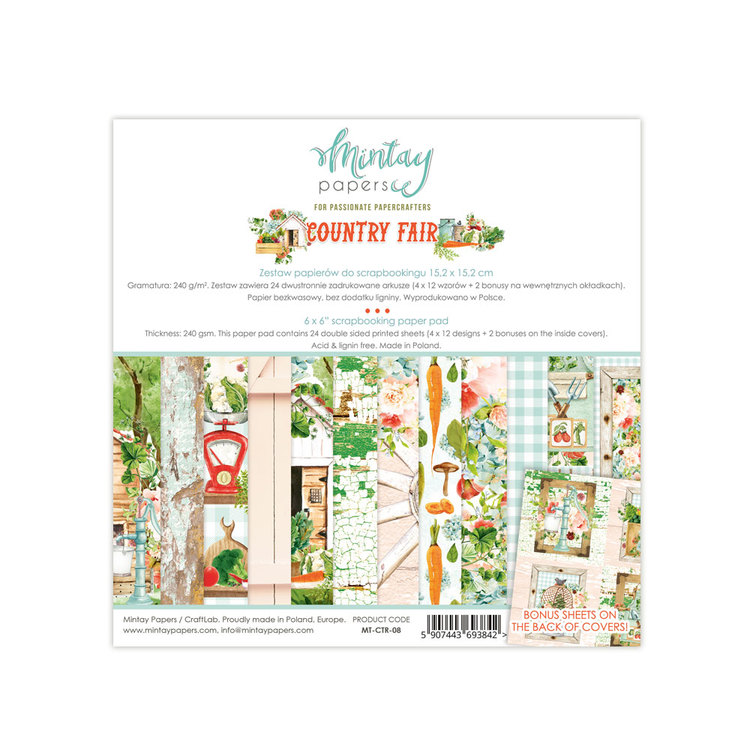 Country Fair papperspad 6x6
