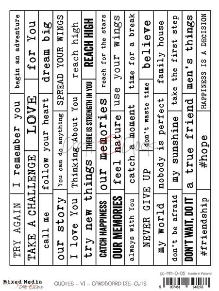 Text Die Cuts 06