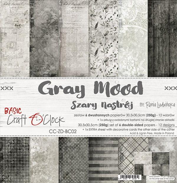 Grey mood 12x12
