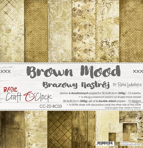 Brown Mood 12x12
