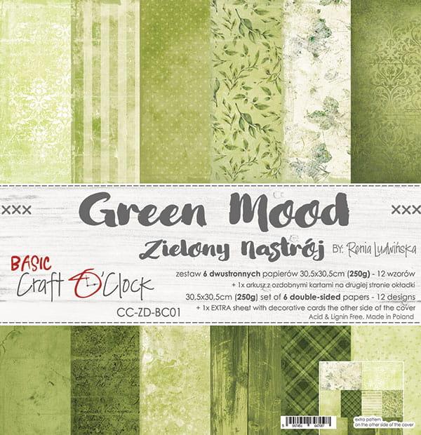Green Mood 12x12