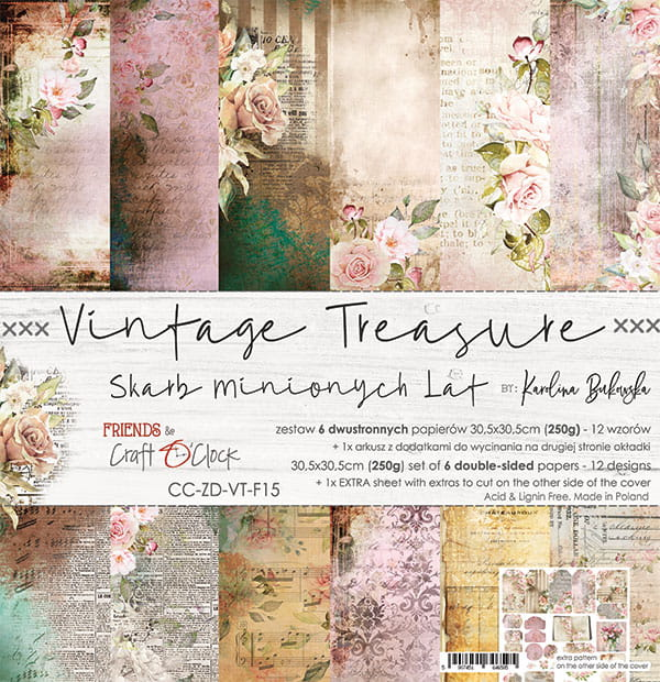 Vintage Treasure 12x12