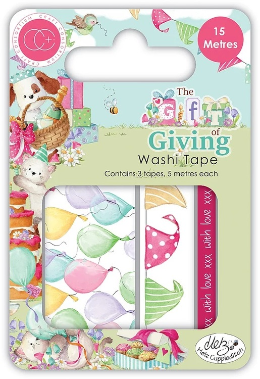 Washi tape the gift of living