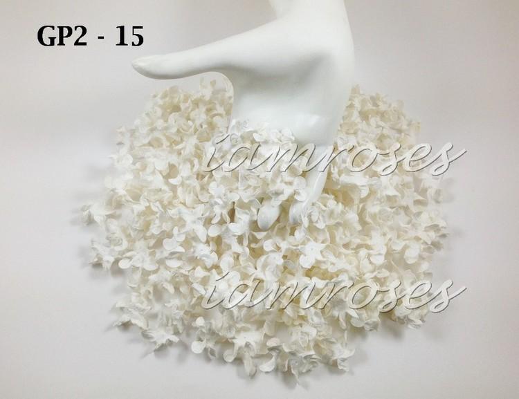 små gardenia blommor  10 / 2.5 cm