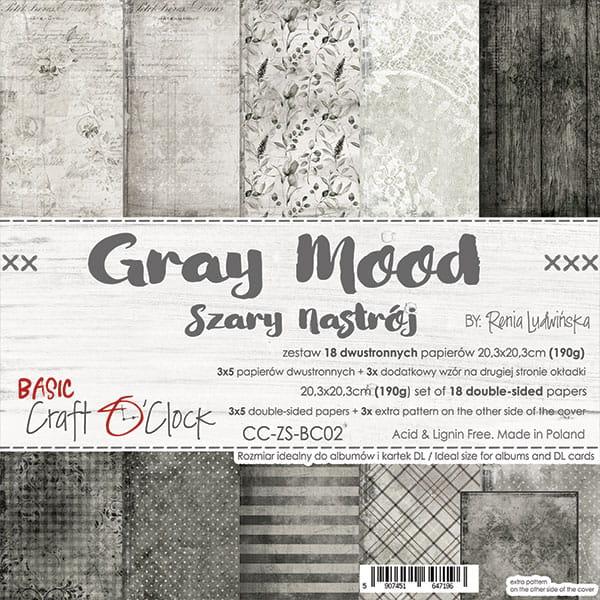 Grey Mood 8x8
