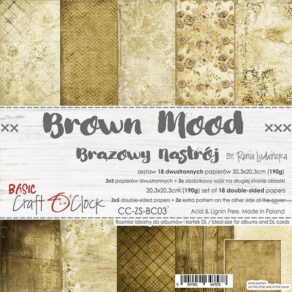 Brown Mood 8x8