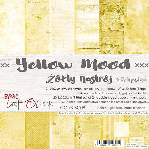 Yellow Mood 8x8