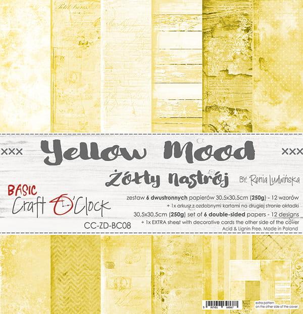 Yellow mood 12x12