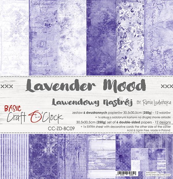 Lavender Mood 12x12