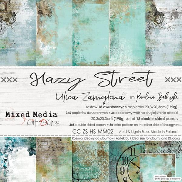Hazy Street 8x8