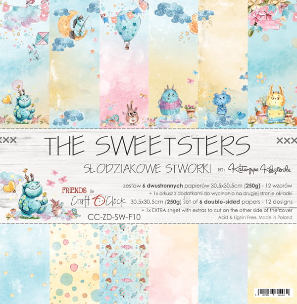 The Sweetsters 12x12