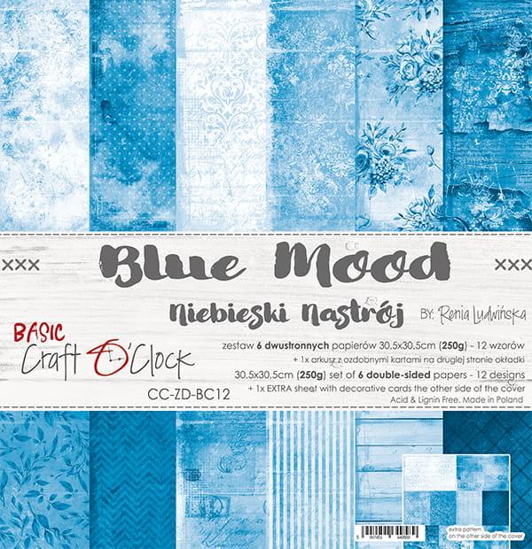 Blue Mood 12x12