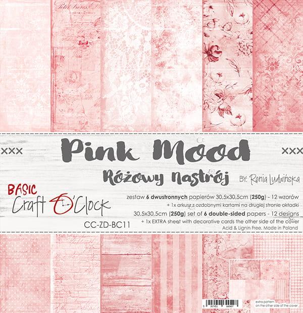 Pink Mood 12x12