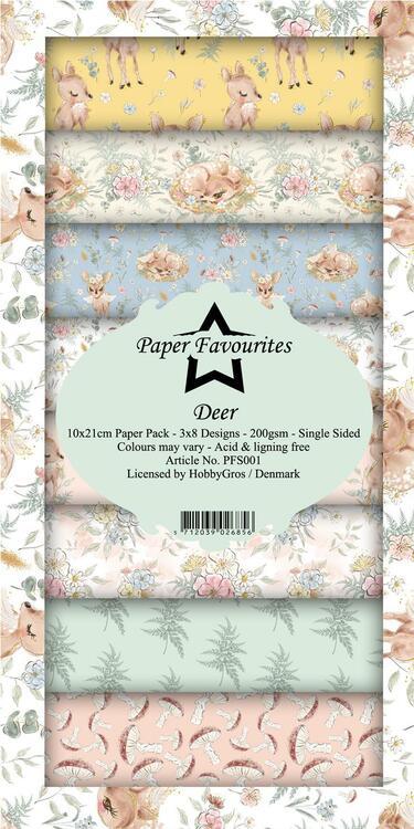 "Slim Card paper ""Deer"" PFS001"