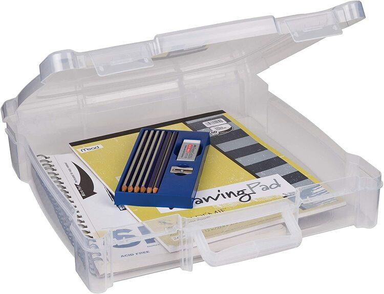 Art bin  12x12 Plastbox