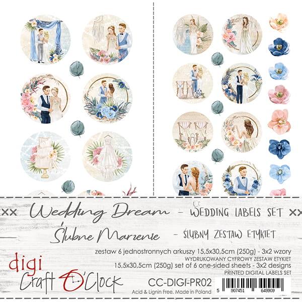 Wedding dream Labels