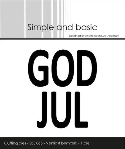 God Jul SBD065