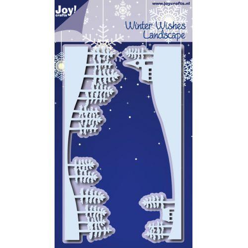 Joy craft  winter wishes landscape