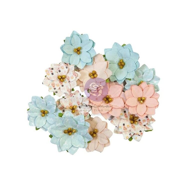 Christmas sparkle  Peppermint sweet flowers