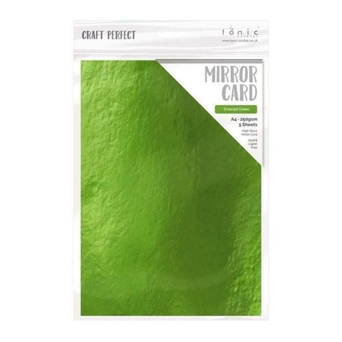 Tonic Studio mirror carton Emerald green