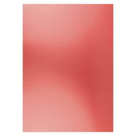 Card deco Metallic Christmas red