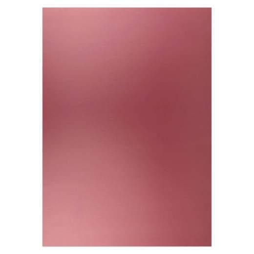 Card deco Metallic Burgundy