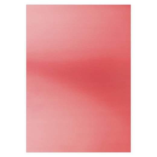 Card deco Metallic Red