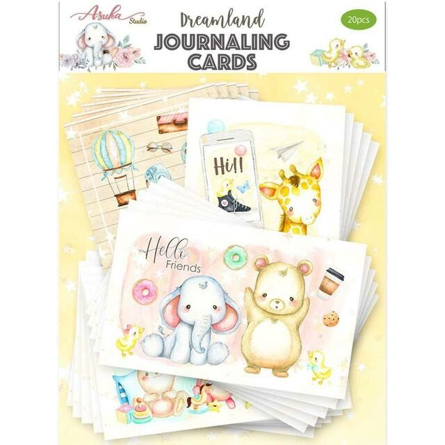 Memory place Dreamland Journaling cards