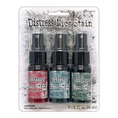 Distress mica stain Holiday 1