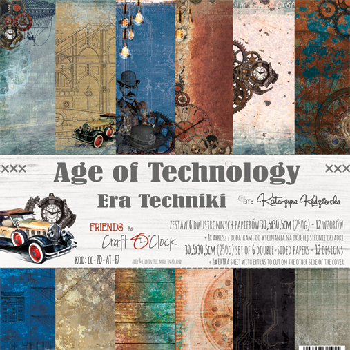 Age of Technology  12x12